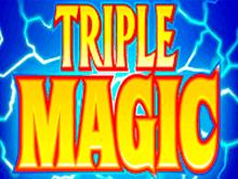 В популярном клубе классический автомат Тройная Магия от Microgaming